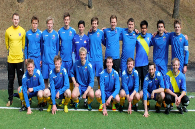 FC Eureka of Trondheim. Linjeforeningen Eureka sin store stolthet (Foto: Eureka linjeforening).