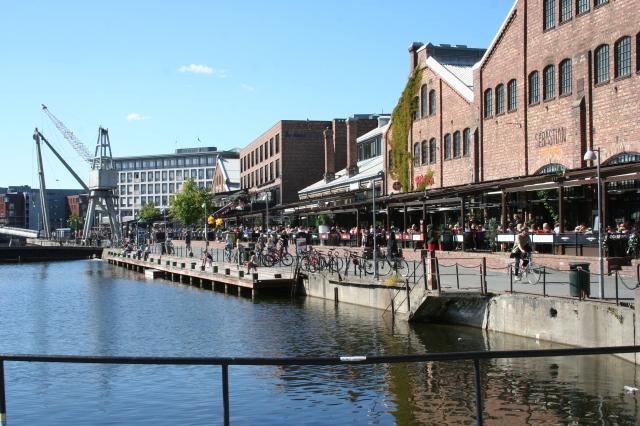 Solsiden. Mitt favorittsted i Trondheim. Foto: Tine O. Fauskanger
